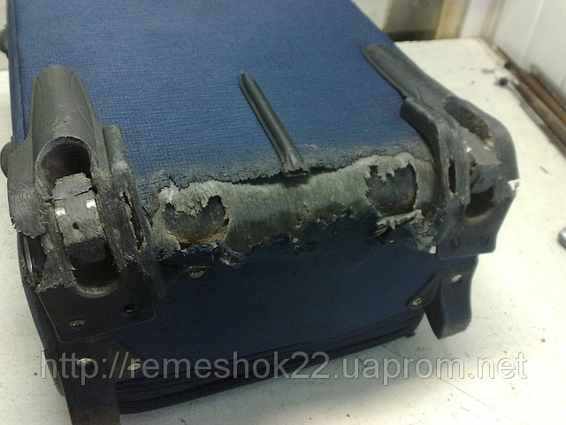 Ремонт корпуса чемодана на колесиках своими руками 51